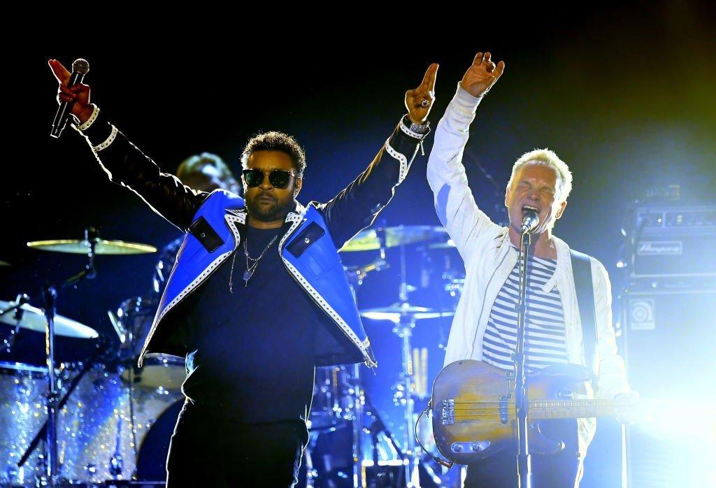 Концерт Sting and Shaggy 2018