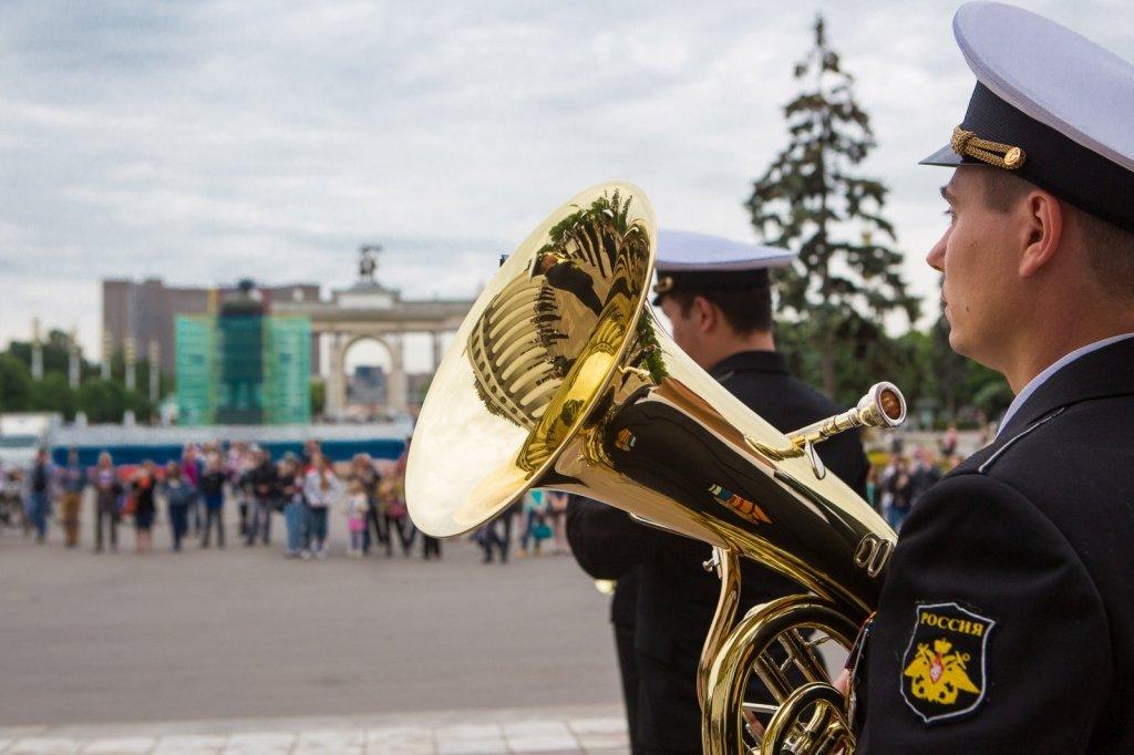 Фестиваль духовых оркестров наВДНХ 2016