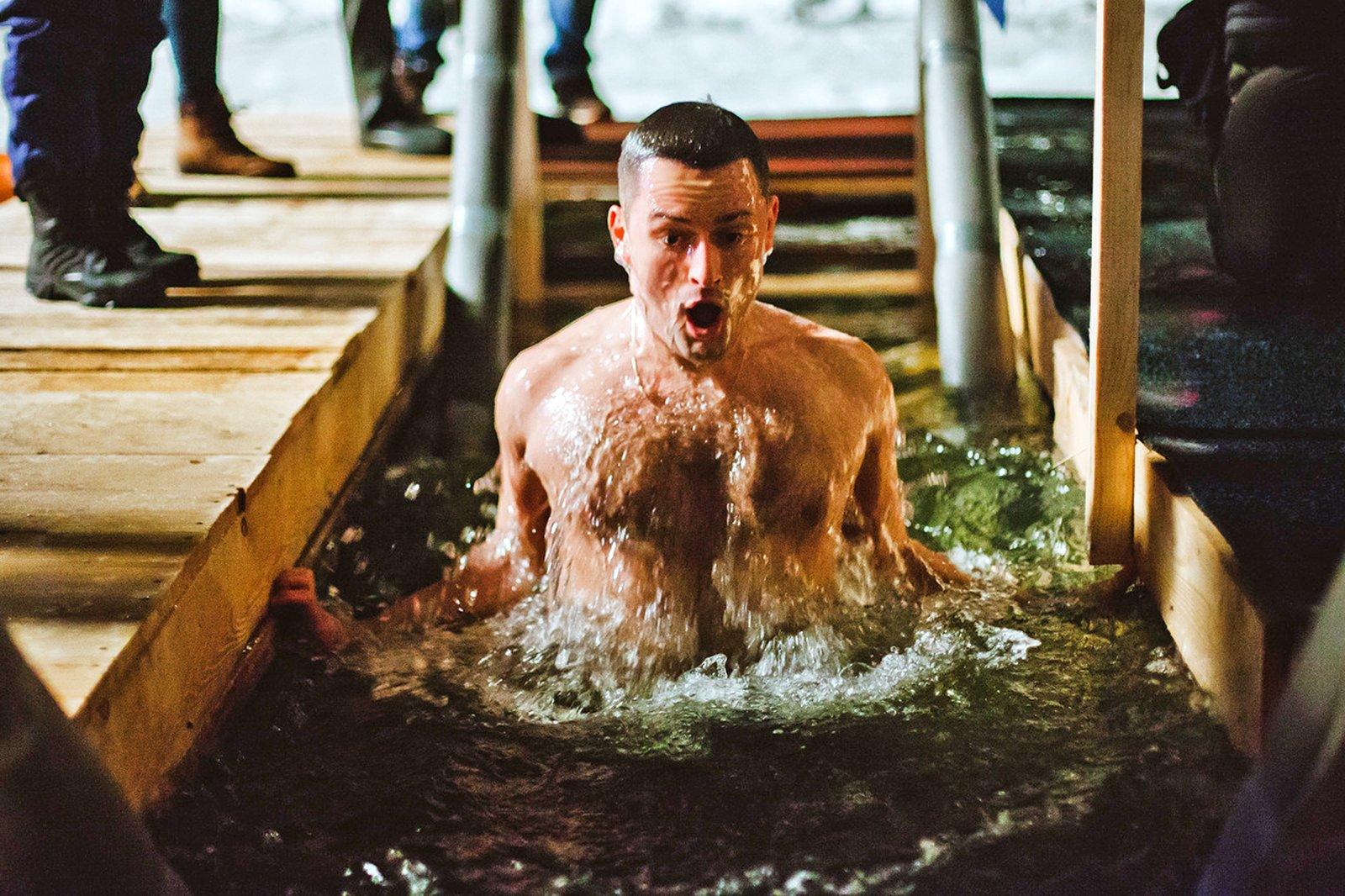 Крещенские купания 2016 впарках Москвы