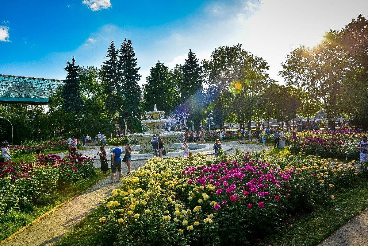 Открытие летнего сезона вПарке Горького 2018
