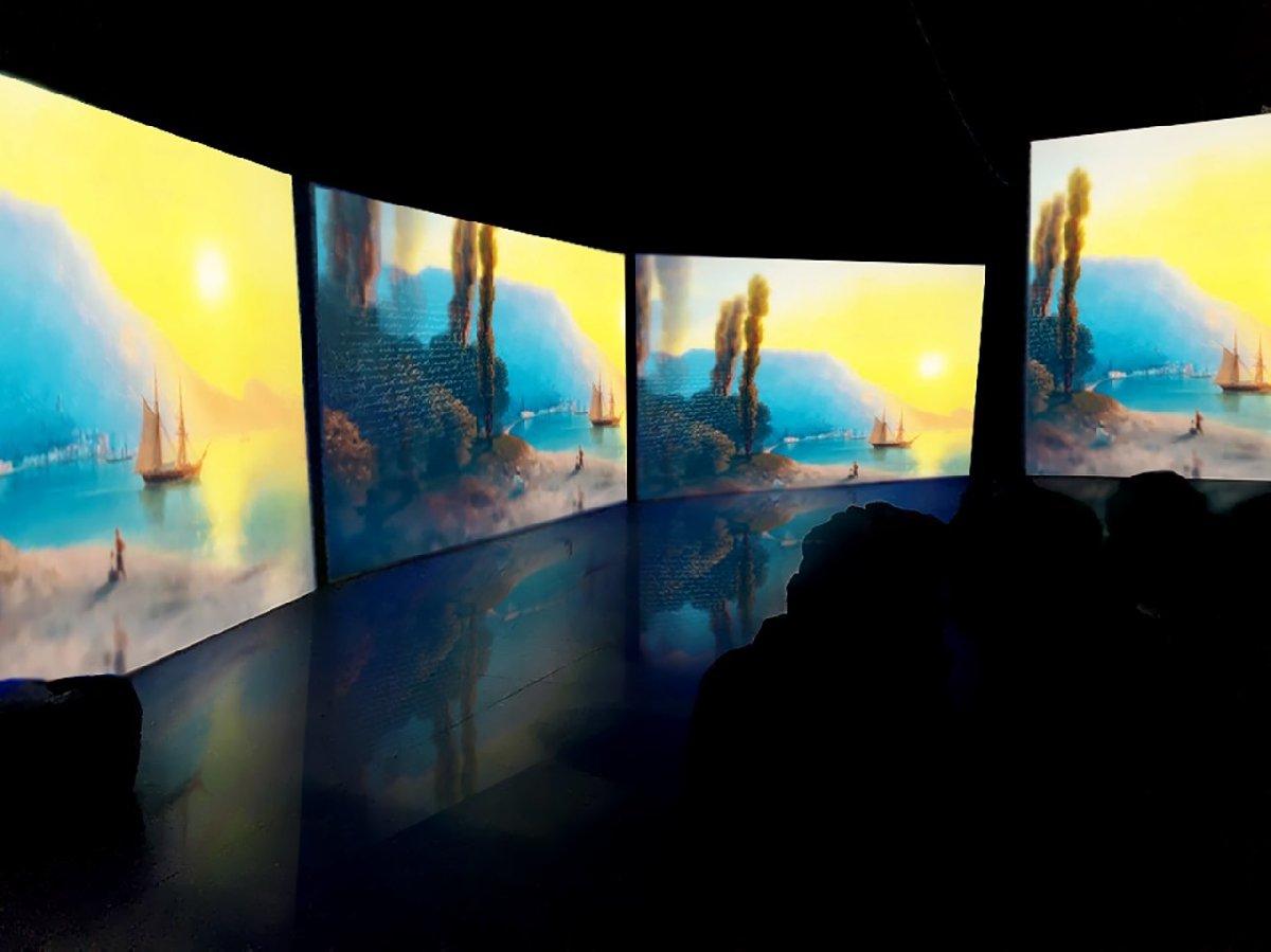 Мультимедийная выставка «Айвазовский— Ожившие полотна»