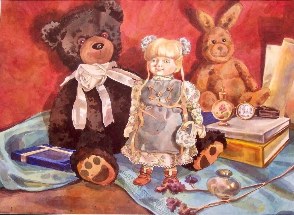 Выставка репродукций учеников Школы акварели Сергея Андрияки