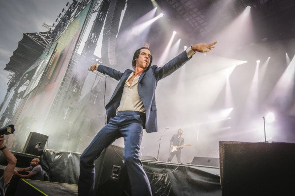 Концерт Nick Cave & The Bad Seeds 2018