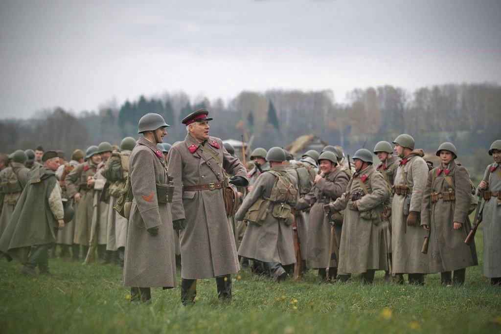 Военно-исторический фестиваль «Москва занами. 1941 год» 2017