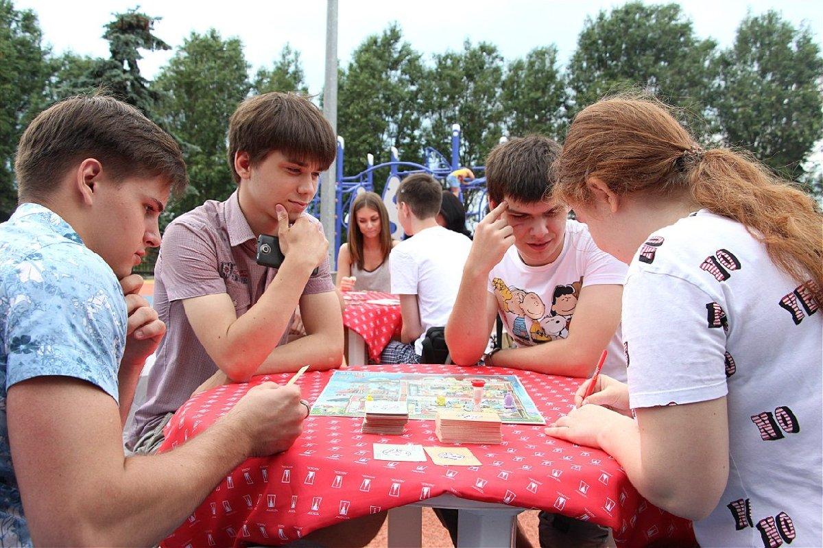 Летняя игротека вПарке Победы 2017