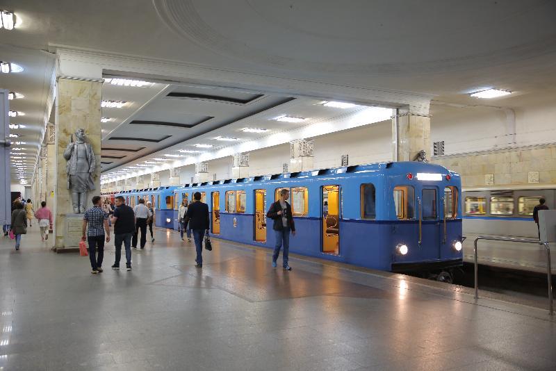 Выставка ретро-поездов 2018