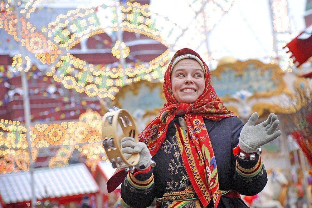 Масленица вПарке Горького 2017
