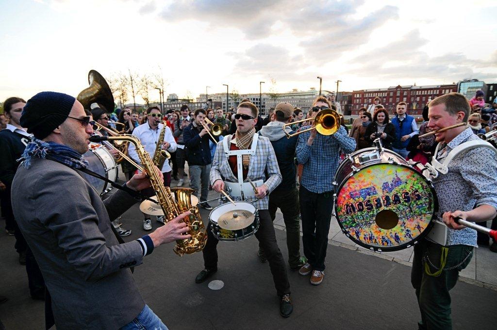 Фестиваль шагающих оркестров 2015