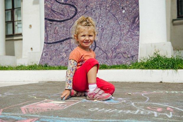 Детский городской фестиваль «Москва наасфальте» 2017