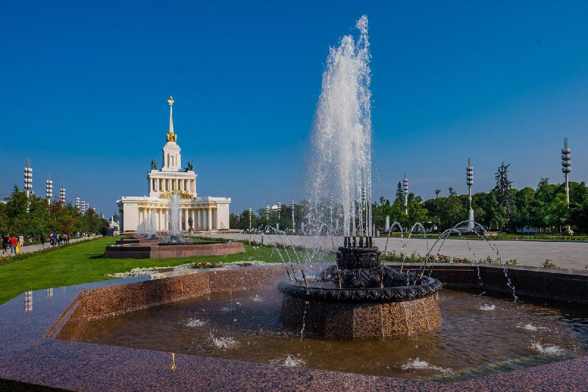 14 фонтанов Центральной аллеи