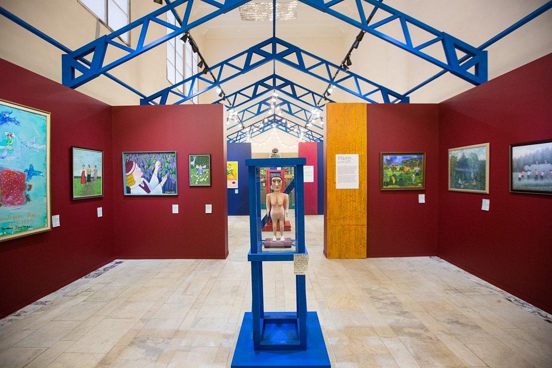 Выставка «Вечные ценности: наивное исамодеятельное искусство»