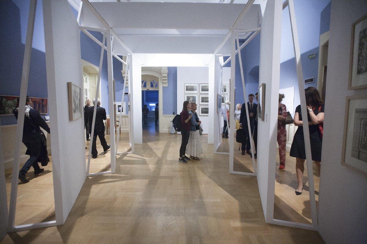 Выставка «Гипноз пространства. Воображаемая архитектура»