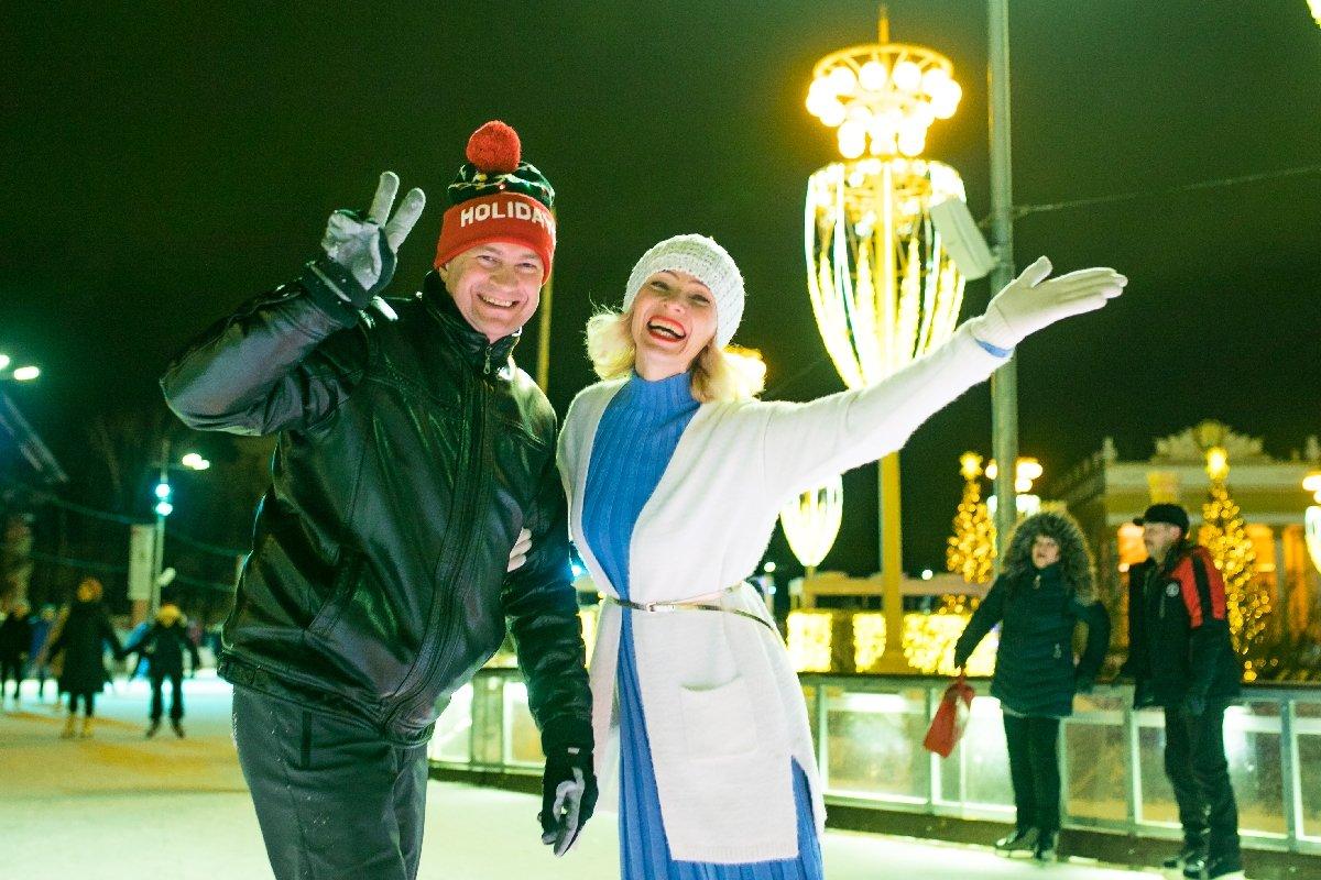 «Зимний праздник жизни» накатке ВДНХ 2020