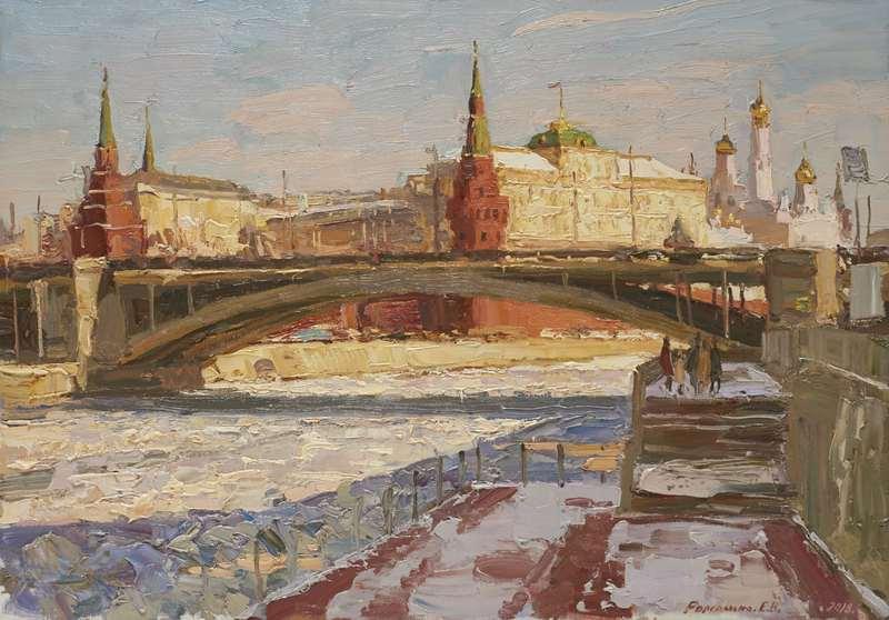Выставка «Москва втворчестве художников»