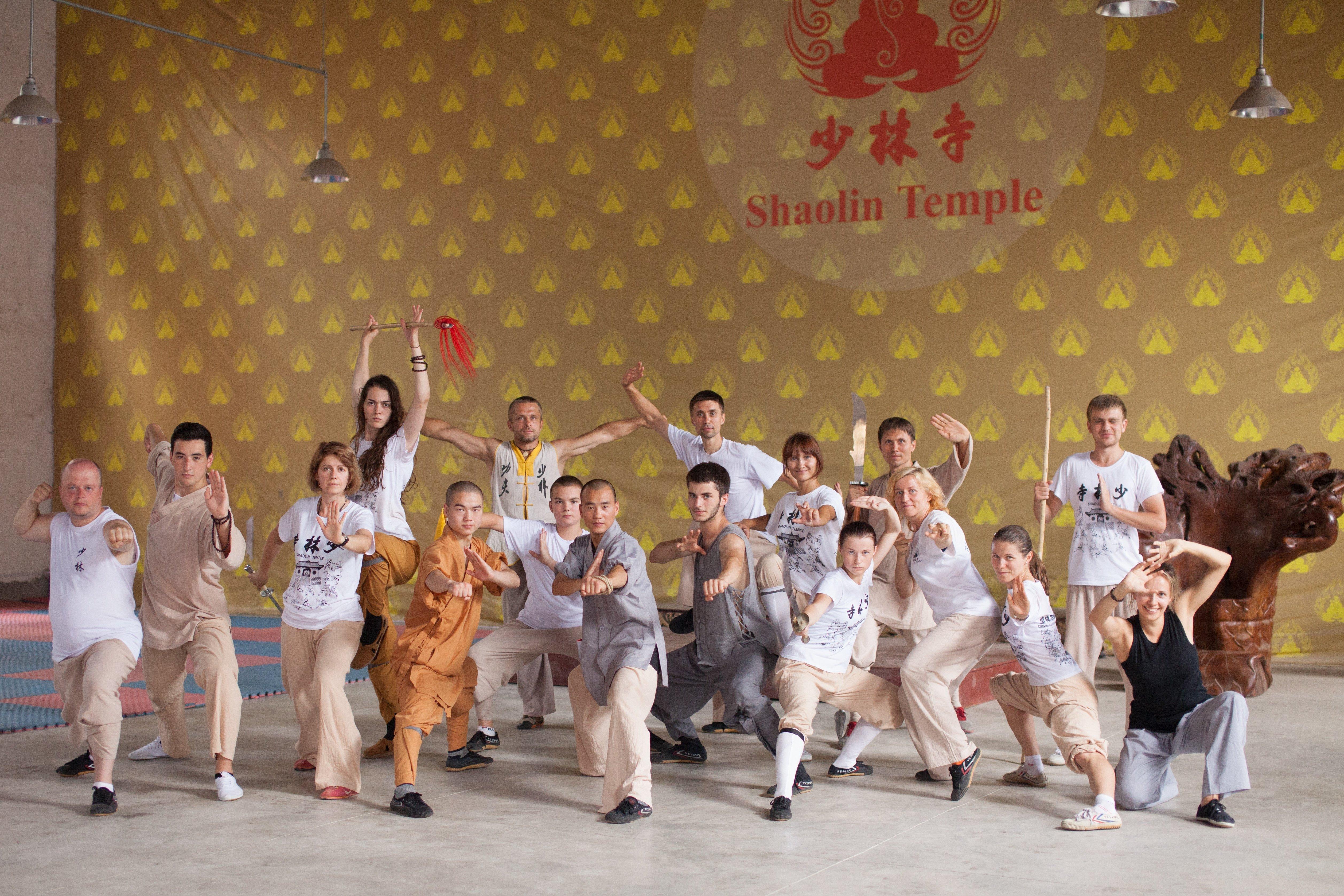 Школа цигун икунг фуШаолиня Мастера ШиЯнбина