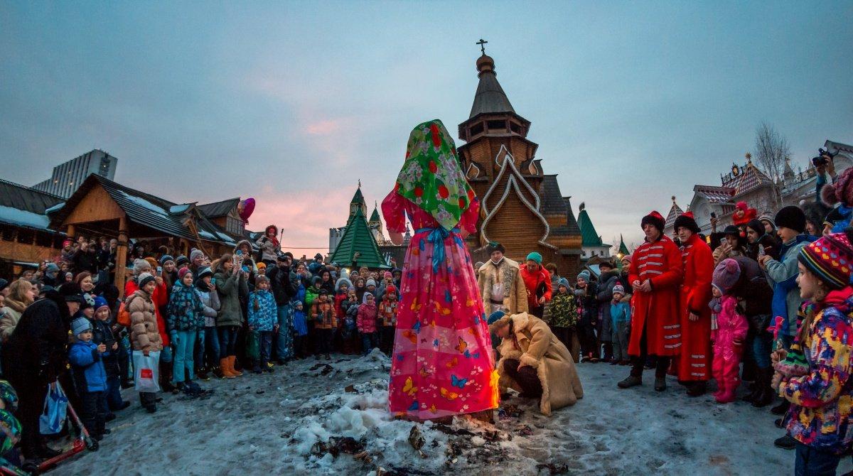 Широкая масленица вИзмайловском Кремле 2016