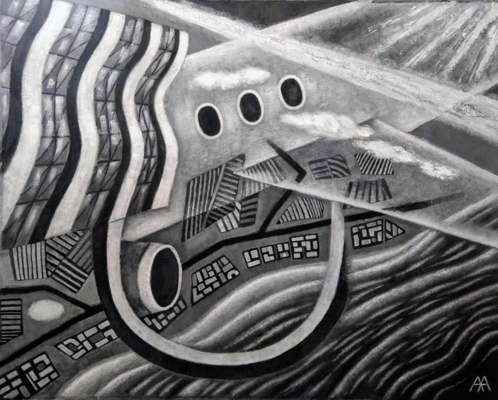 Выставка «Черное+Белое/ЗВУК+ЗНАК»