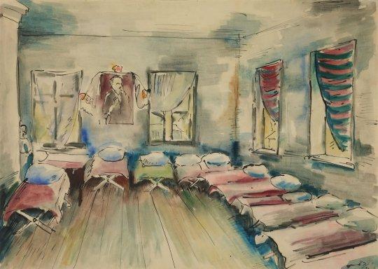Выставка «Сцены частной жизни. Интерьер вграфике XXвека»
