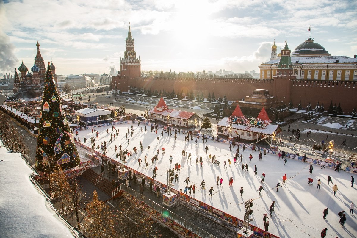 ГУМ-Каток наКрасной площади 2018/19