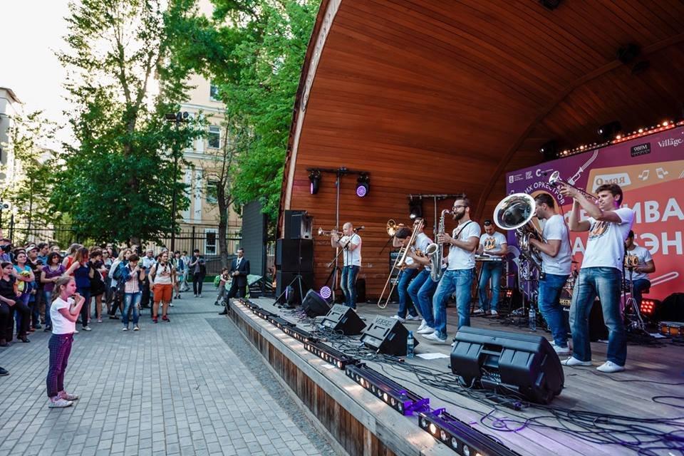 Батлы хоров впарках Москвы 2017