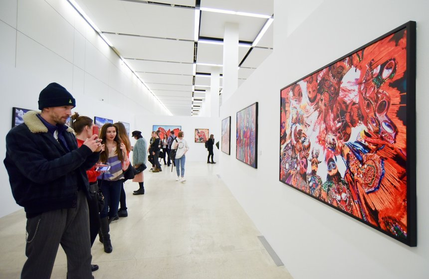 Выставка «Туда, где нет света»