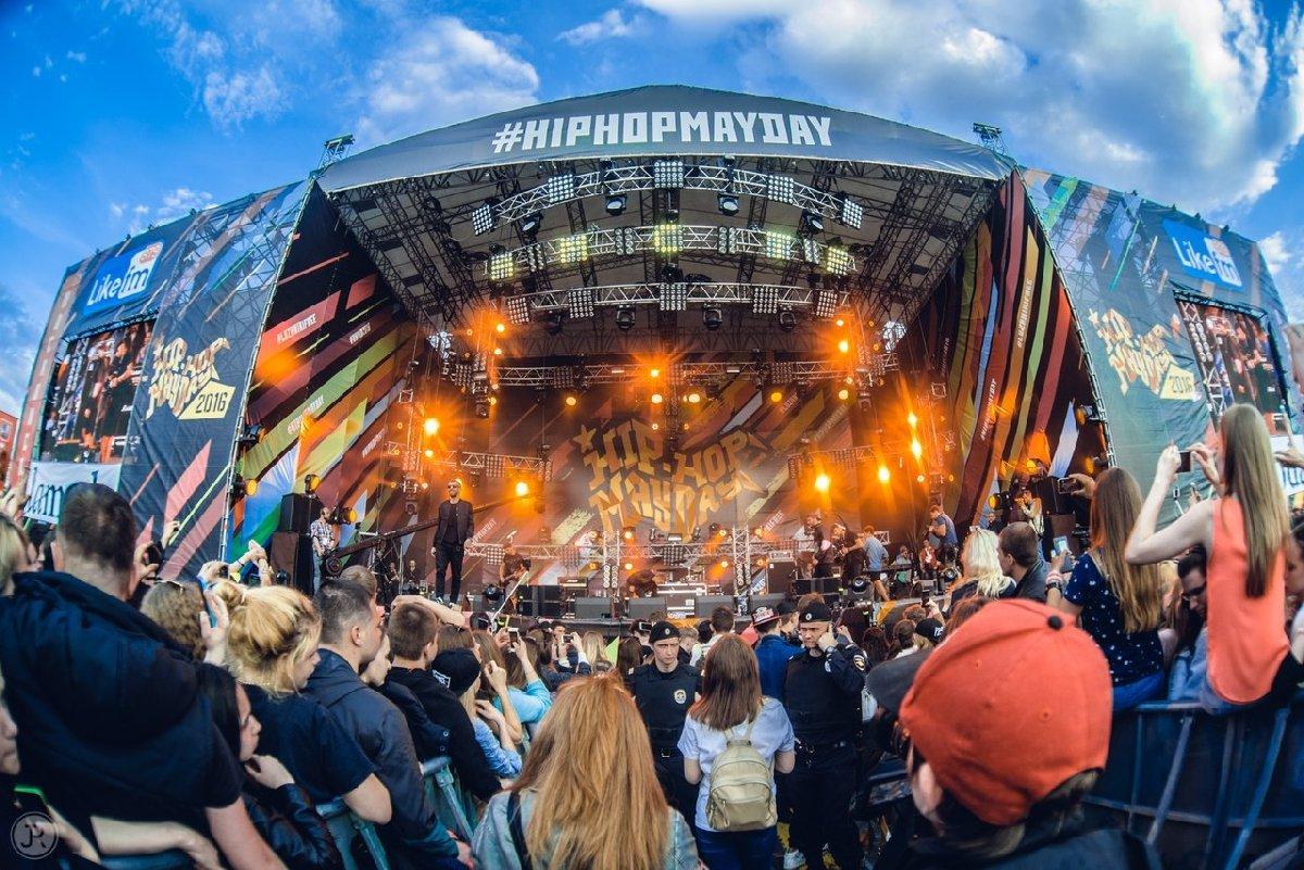 Фестиваль «Hip-hop MayDay» 2019