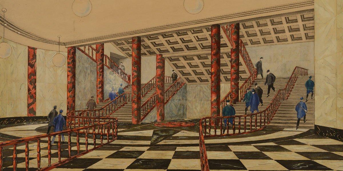Выставка «Московское метро— подземный памятник архитектуры»