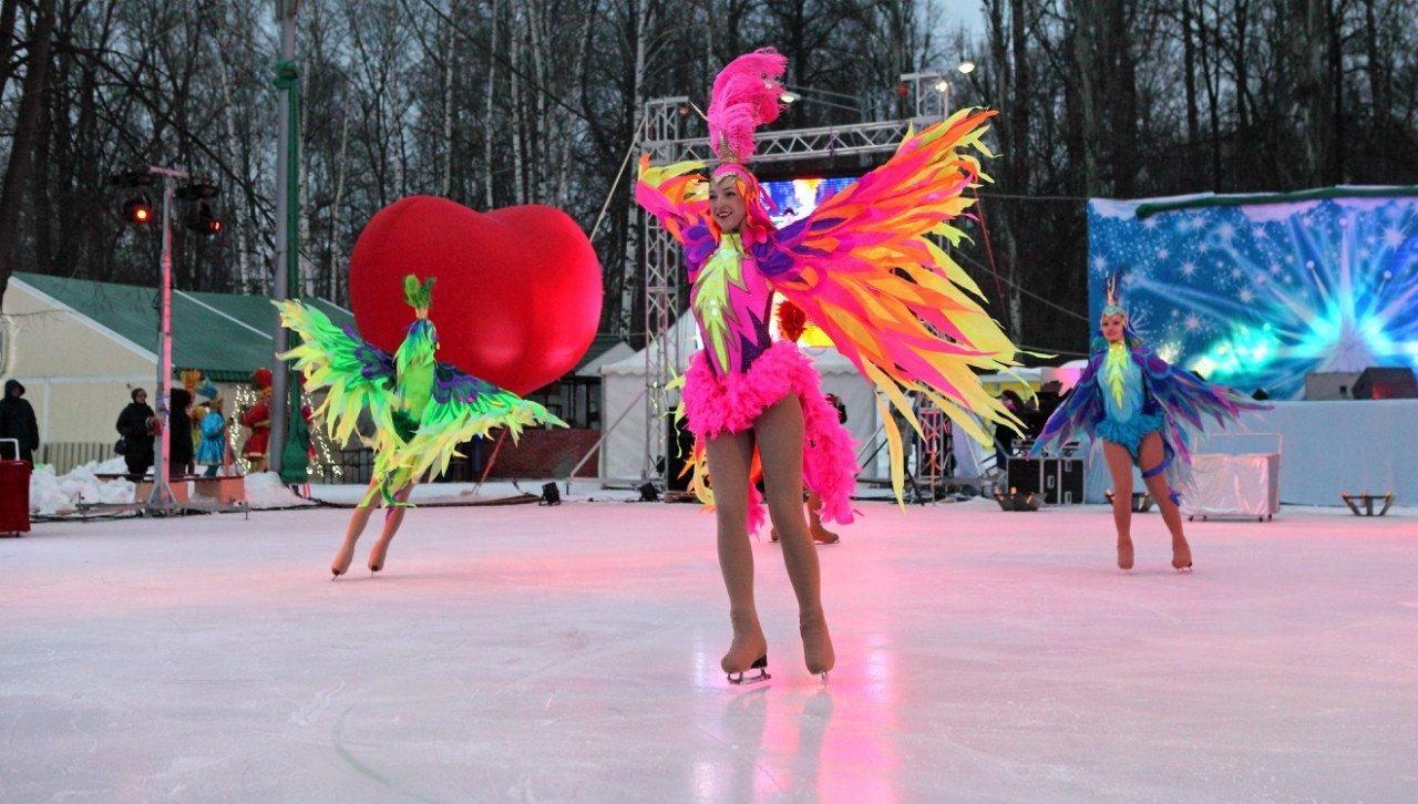 Открытие зимнего сезона вИзмайловском парке 2016