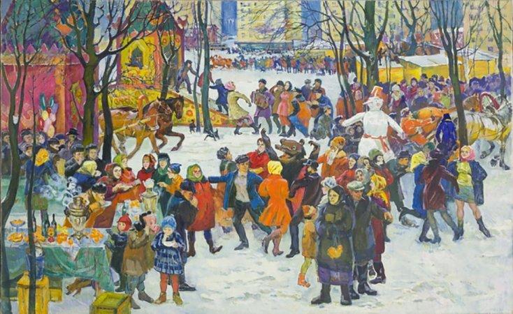 Выставка «Самара. Далее везде. Россия впроизведениях Юрия Филиппова»