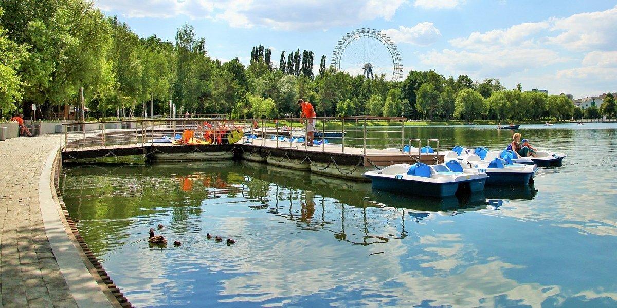 Водные прогулки впарках Москвы 2020