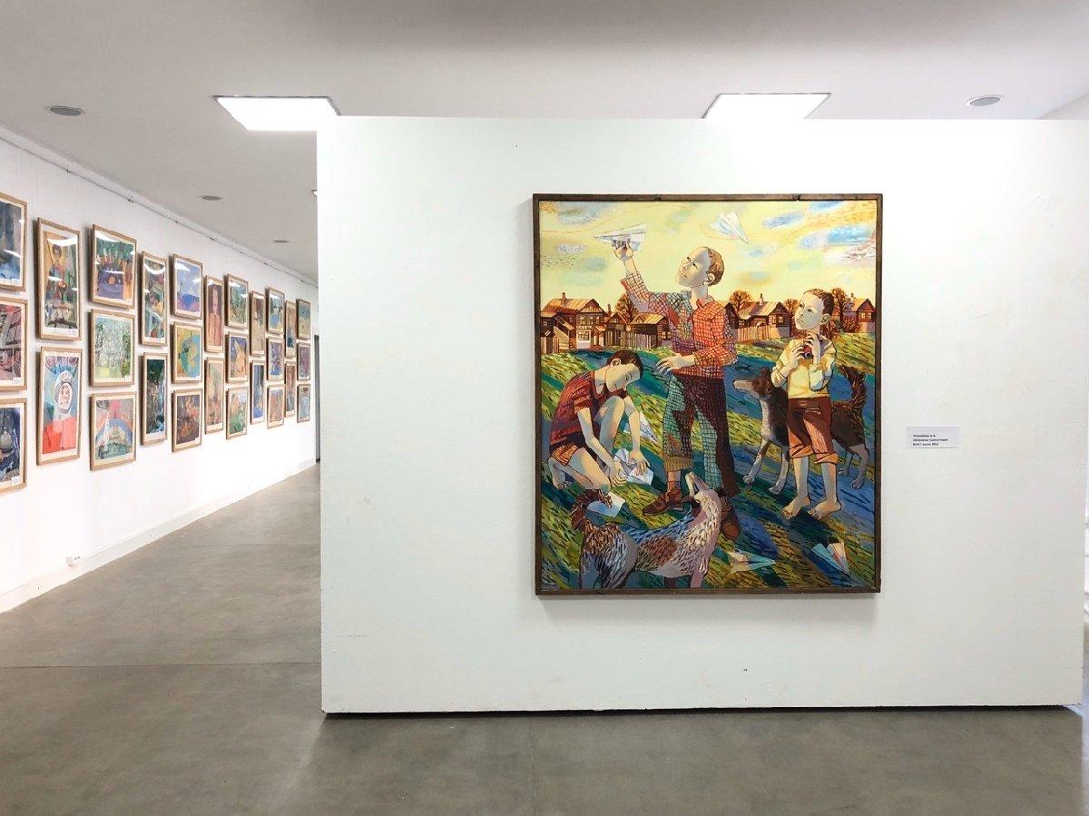 Выставка «Признаки детства»