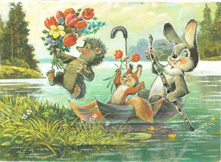 Выставка «Традиции весенних праздников вотечественных открытках»