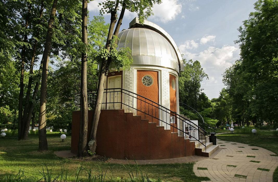 Открытие народной Обсерватории вПарке Горького