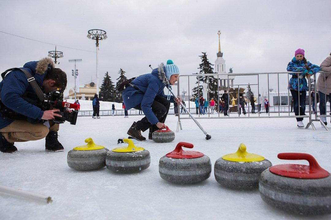 День зимних видов спорта наВДНХ 2016