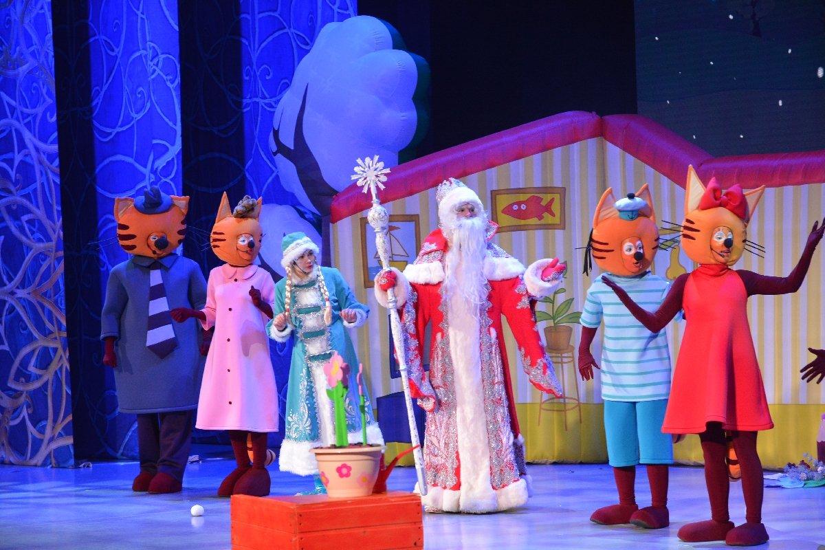 Шоу «Три Кота: подарки для Деда Мороза» 2020/2021