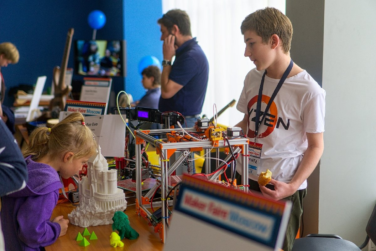 Фестиваль «Maker Faire Moscow» 2018