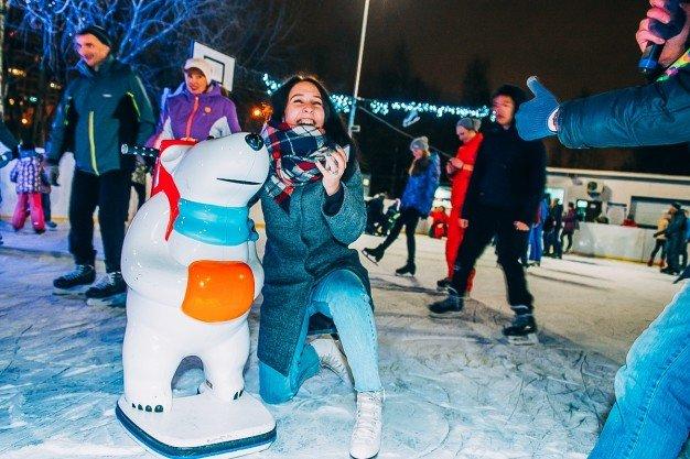 «Live!Каток» вВоронцовском парке 2020–2021