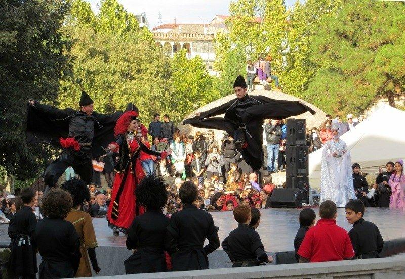 Грузинский праздник «Тбилисоба вМоскве» 2015