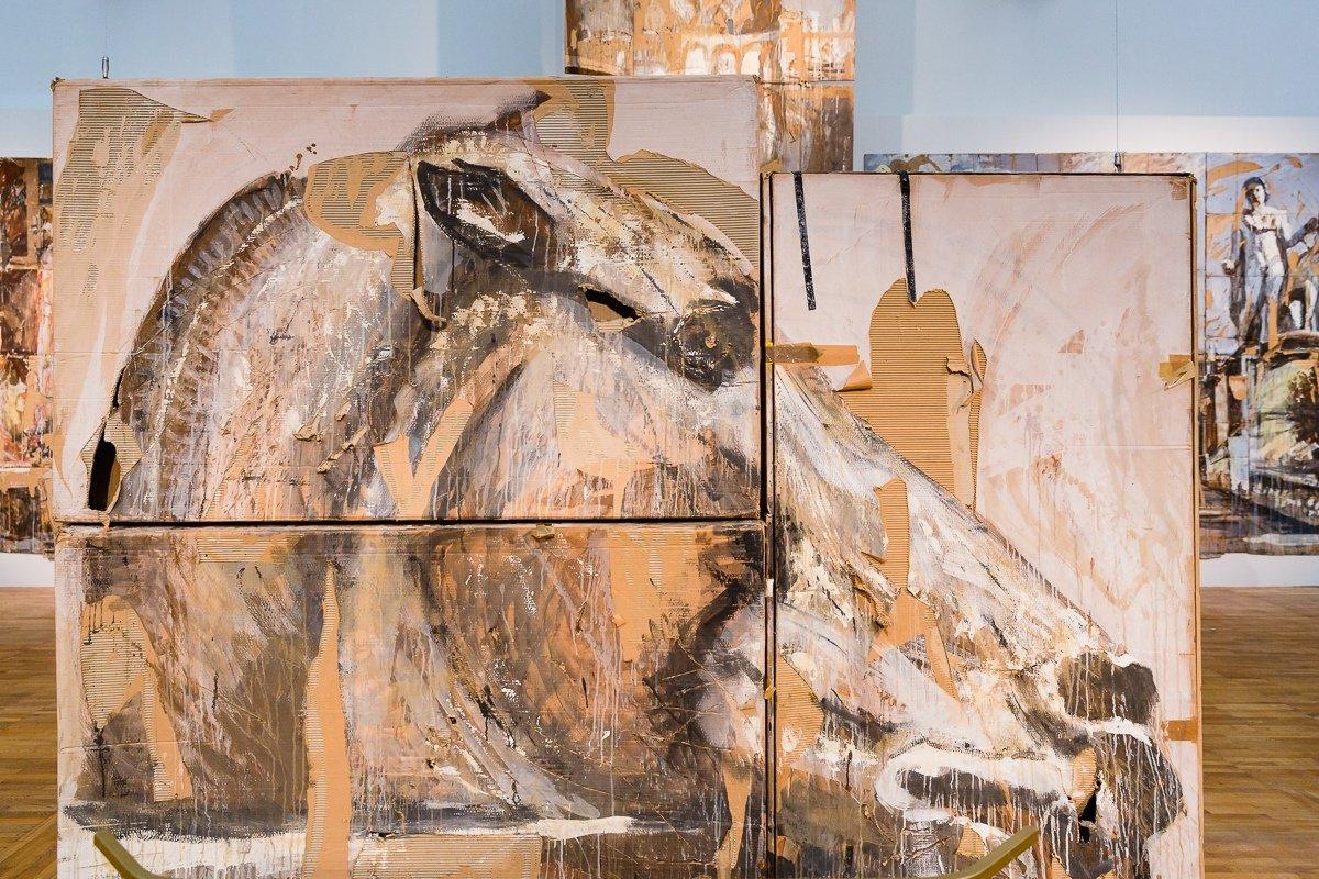 Выставка «Валерий Кошляков. Романский Пленник... или такелажные работы»