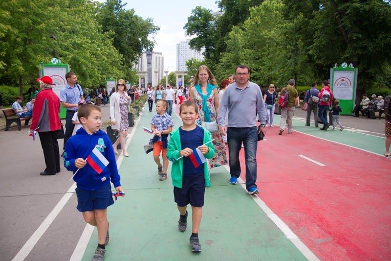 День России впарке «Сокольники» 2017