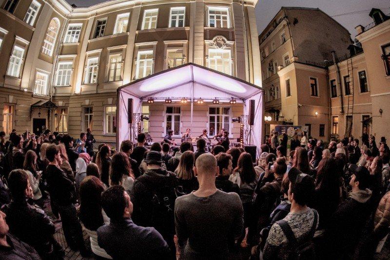 Ночь искусств вМузее Москвы 2018