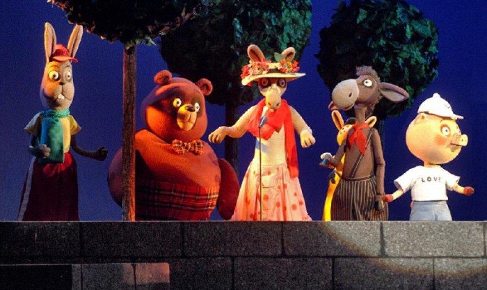 Театр кукол образцова и картинках