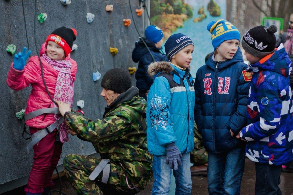 День Защитника Отечества вПеровском парке 2018
