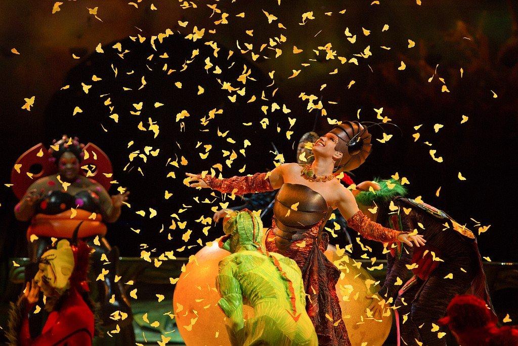 Шоу Cirque duSoleil «OVO» 2018