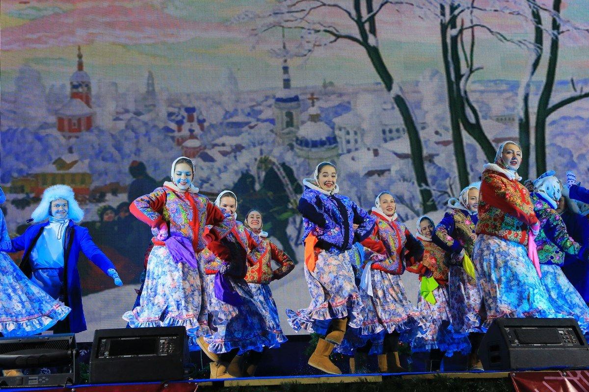 Масленица в«Ледовой Москве» наПоклонной горе 2017