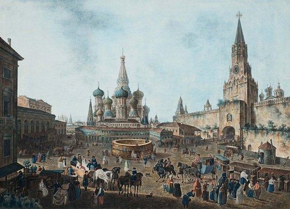 Выставка «Пейзажи старой Москвы. Акварели изсобрания Исторического музея»