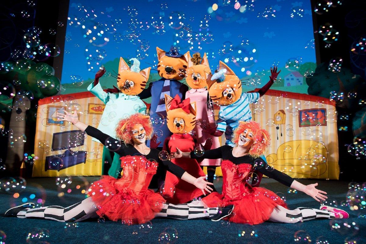 Шоу «Три кота: миу-миу-миу Елка» 2019/2020