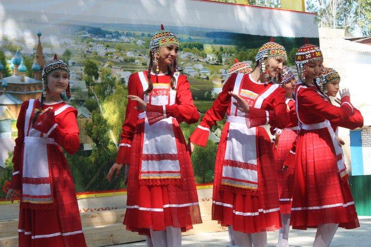 Национальный удмуртский праздник «Гербер»