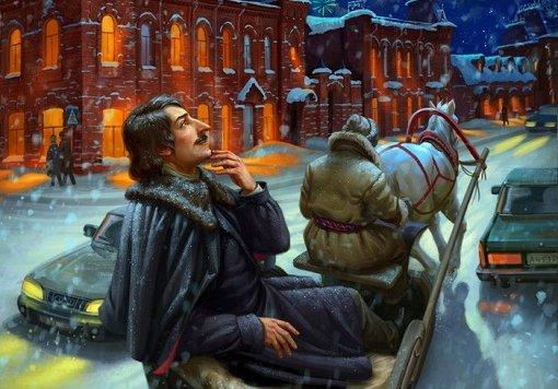 Онлайн-фестиваль «Снежный Гоголь» 2021