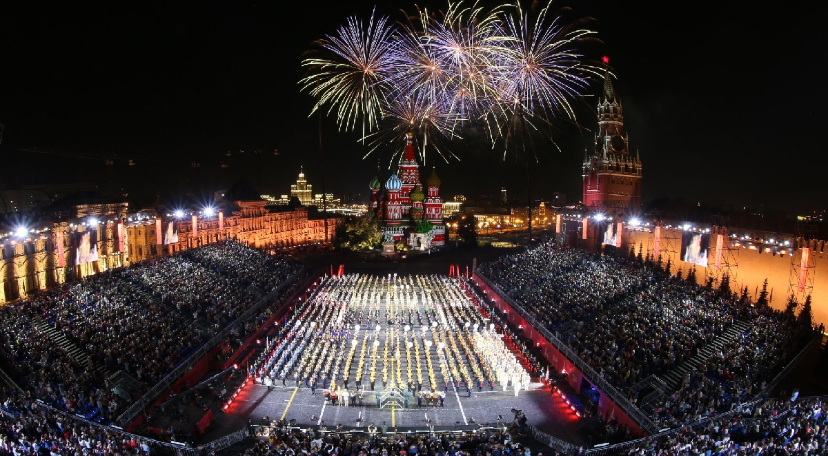 Военно-музыкальный фестиваль «Спасская башня» 2021